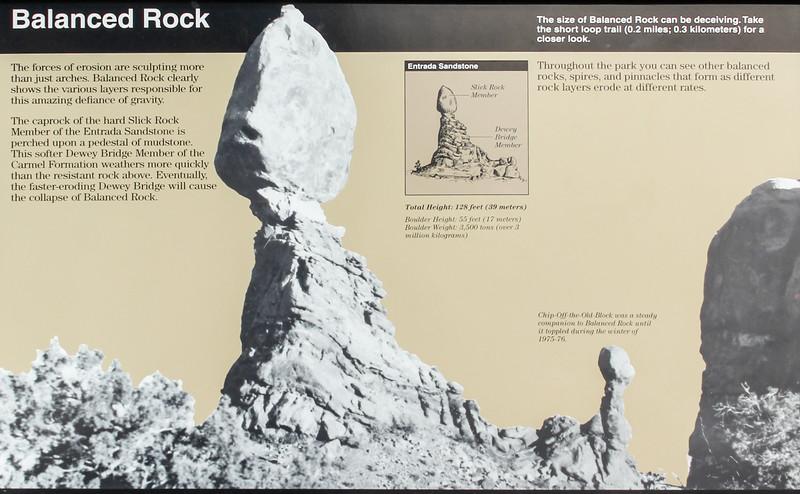 Arches National Park - Balanced Rock
