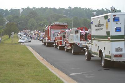 2008 Wilkes Co. Emergency Vehicle Parade