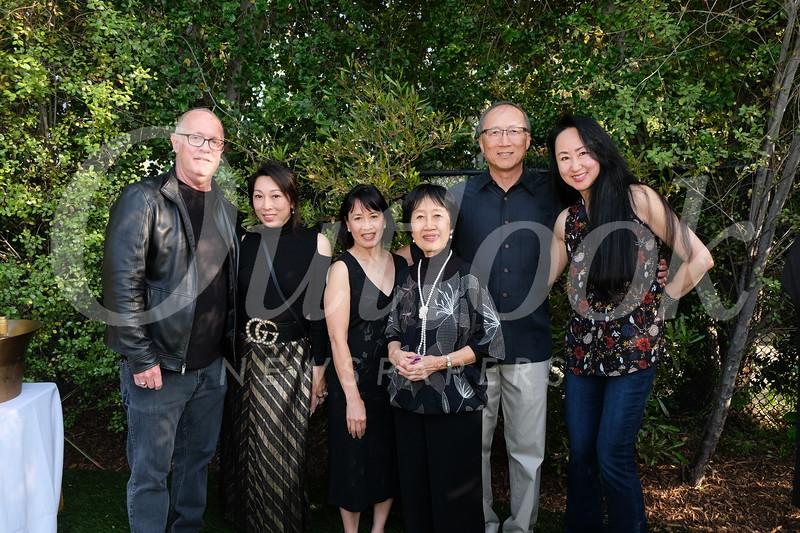 Jeff Murray, Linda Shen, Karen Lam, Katherine Lam, David Yu and Kelly Yu