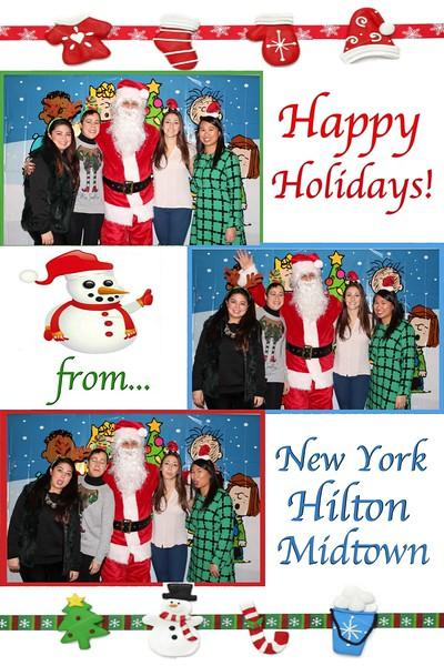 Hilton Photo's with Santa 12/13