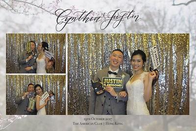 Cynthia & Justin - 19th Oct 2017