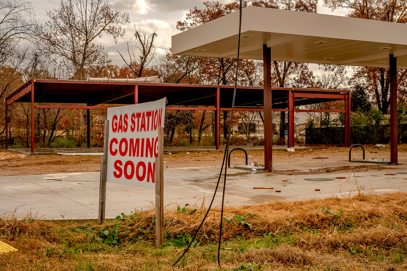 GAS STATION COMING SOON
