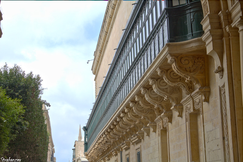 Balcony Valletta, Malta.   03/23/2019 This work is licensed under a Creative Commons Attribution- NonCommercial 4.0 International License