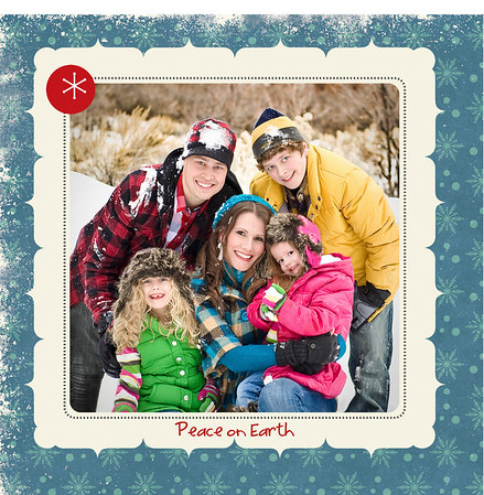 Plant Family Christmas card 2010