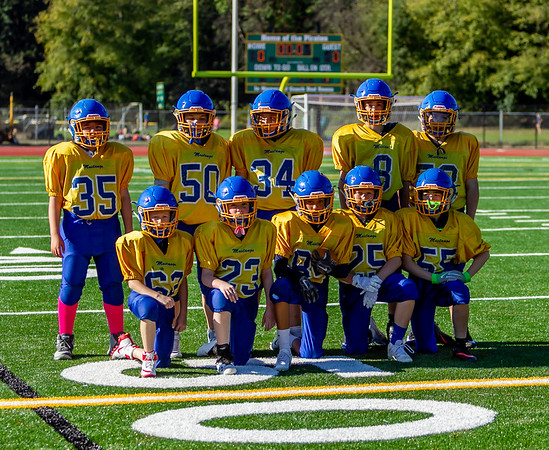 McMurray Mustangs Football Blue and Gold Scrimmage 10/04/2018