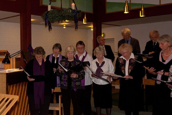 Event 2011 De Ni Læsninger Kokkedal Kirke