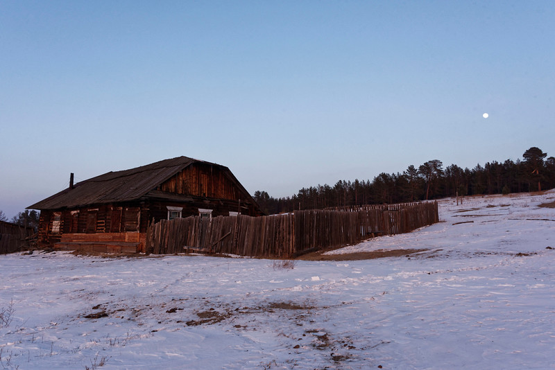 Peschanaya - Gulag fishery building where prisoners worked shortly after the 2nd World Wa