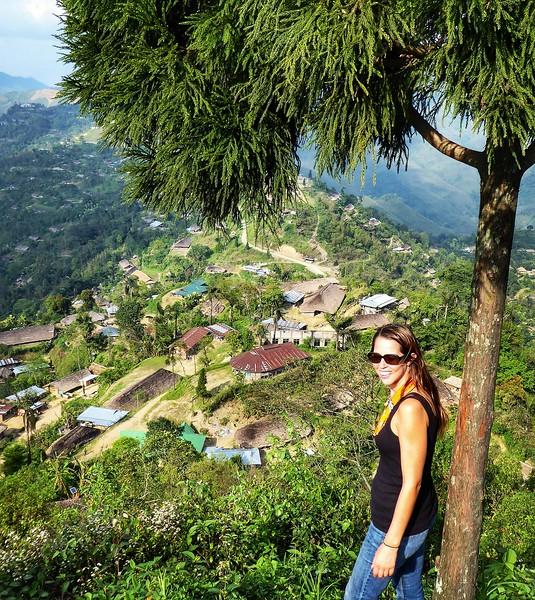 Overlook Longwa village of headhunters on India and Myanmar border.jpg