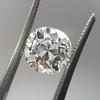2.35ct Antique cushion Cut Diamond, GIA K VS1 9