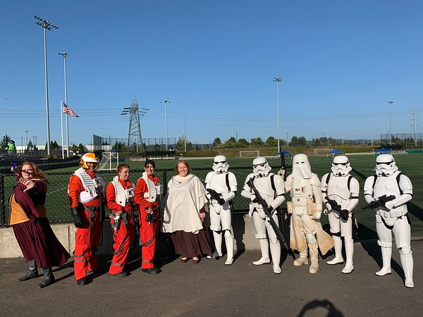 Hillsboro Hops Star Wars Night