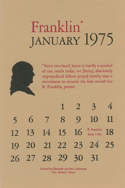 January, 1975, Herity Press