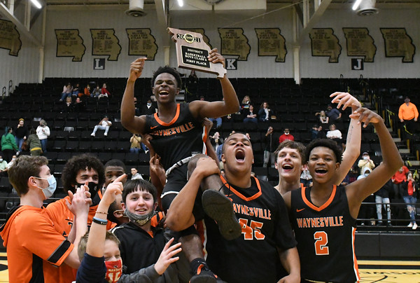 Basketball - Boys District Championship 2020-21 - Waynesville-Parkview Ozone