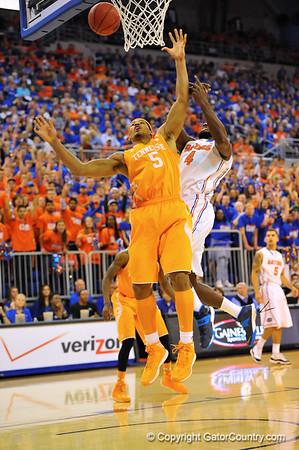 Gators vs Tennessee Volunteers Mens Basketball 1-25-13