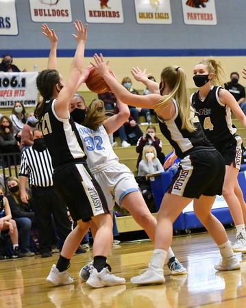 Potosi-Cassville @ Mineral Point Girls Basketball 2-13-21