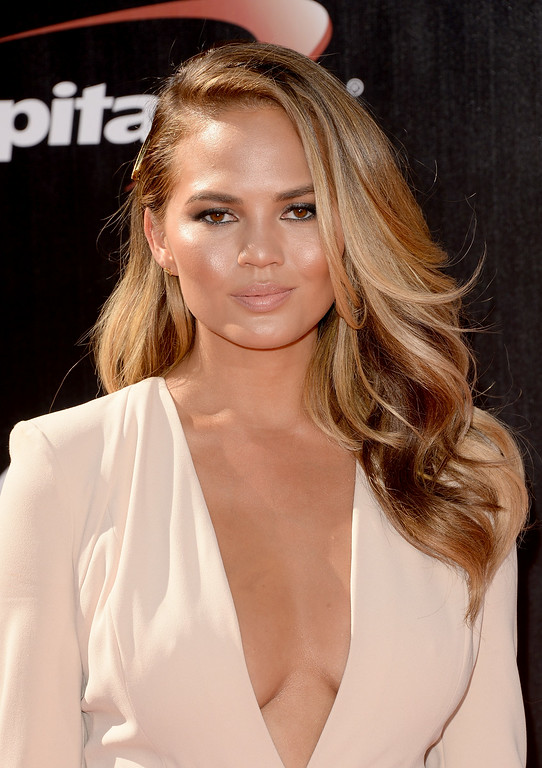 . LOS ANGELES, CA - JULY 16:  Model Christine Teigen attends The 2014 ESPYS at Nokia Theatre L.A. Live on July 16, 2014 in Los Angeles, California.  (Photo by Jason Merritt/Getty Images)