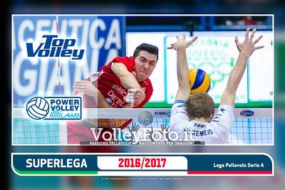 12ª ritorno #SuperLega «Top Volley Latina - Revivre Milano»