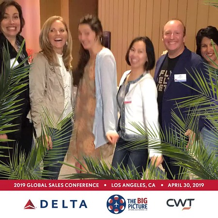 Delta Airlines Global Sales Conference 2019 LA MP4s