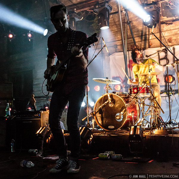The Black Lips perform at The Goat Farm Art Center in Atlanta, Georgia on Saturday, Oct. 4, 2014