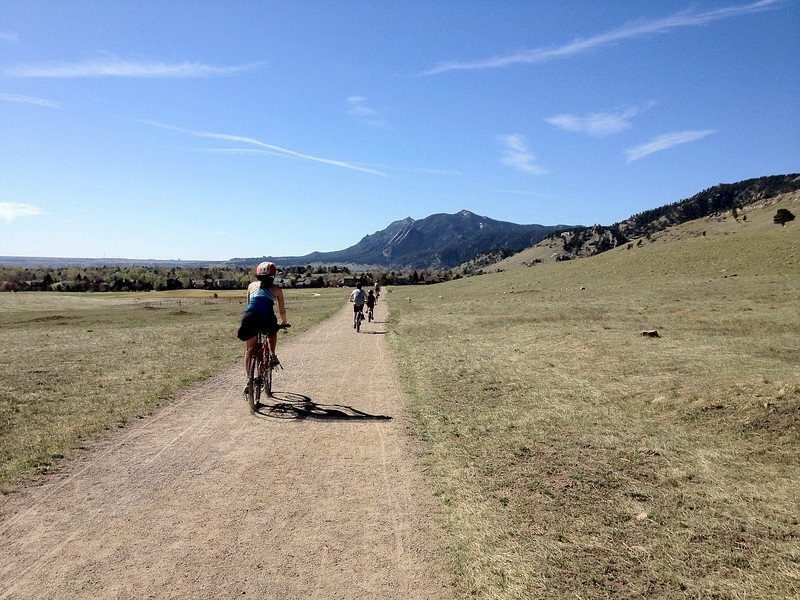 South Foothills Trail, City of Boulder Open Space (behind our house)
