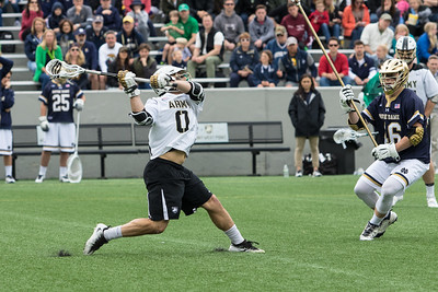 Army vs Notre Dame Lacrosse 2017
