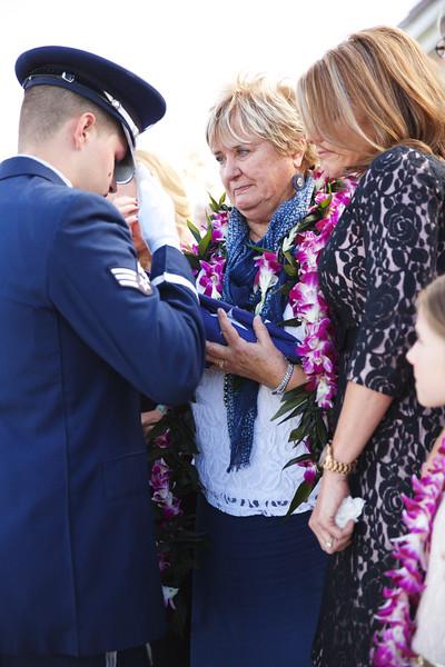 Bill Hunt's Funeral
