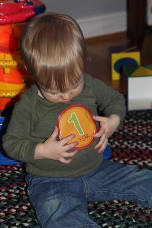 Elliot's First Birthday 2/2016