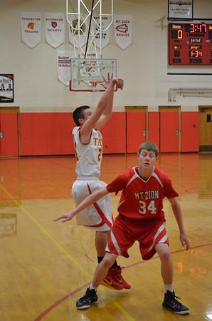 Freshman Guys Basketball vs Mt. Zion