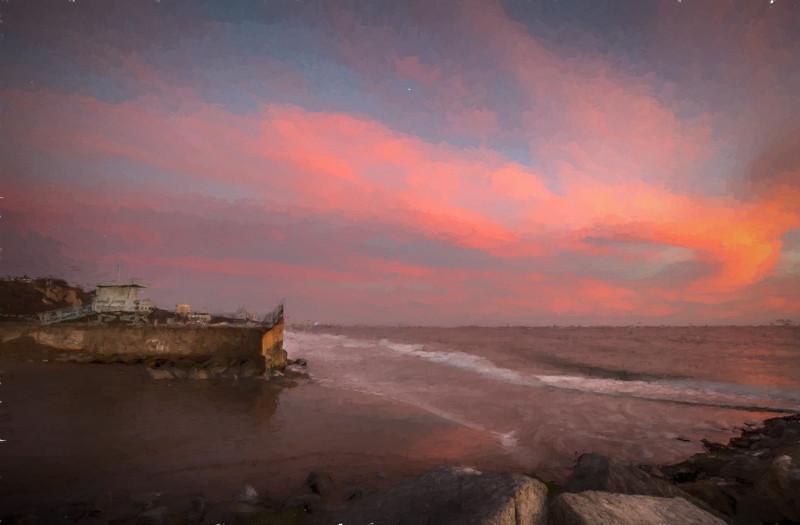 November 15 - Sunset over Santa Monica Bay.jpg