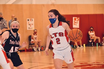 LTS Girls Varsity Basketball vs TV photos by Gary Baker