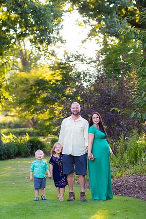 Caspar Family Maternity Session :: Ford Fletcher Park :: AO&JO Photography (Raleigh Family Photographer)