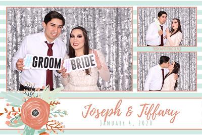 Joseph & Tiffany's Wedding 01.04.2020