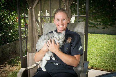 Rescued by the LAPD Calendar 2015