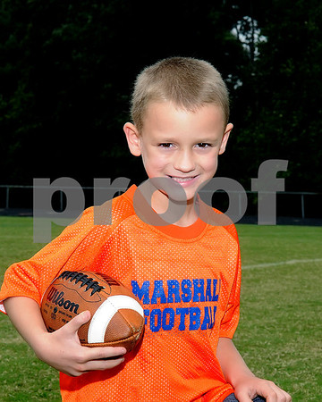 Marshall County Flag Football 2012, September 15, 2012, South Team 1, Coaches Steven Oakley & Jeff Waters.