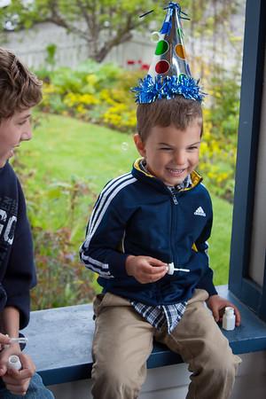 Ezra's 4th Birthday