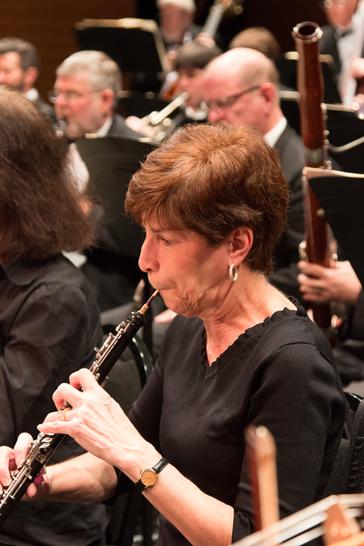 Judy Gadol -- Symphony of the Potomac at the Cultural Arts Center, Silver Spring, MD, February 2018.