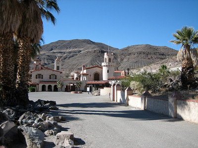 Scotty's Castle and Ubehele Crater