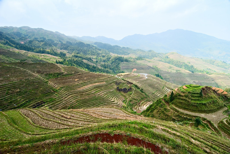 Longsheng Rice Terraces North of Guilin, China — April 2010