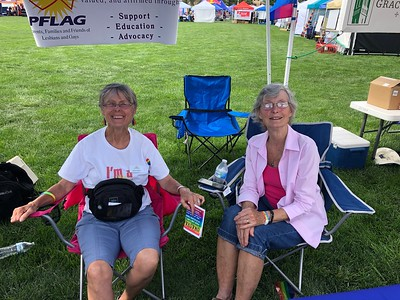 PFLAG at COS PrideFest 2019 + Parade