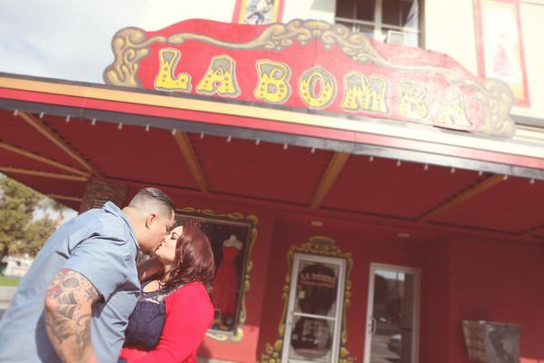 Rosie + Danny | Down Town Pomona Engagement