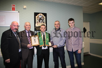 UNVEILING OF A PLAQUE IN THE I.N.F NEWRY