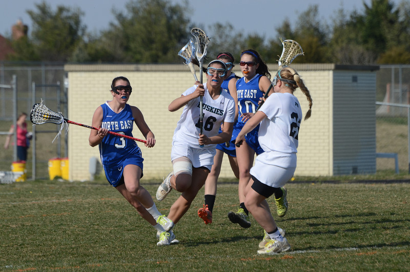 Girls Varsity Lacrosse April 8 vs North East