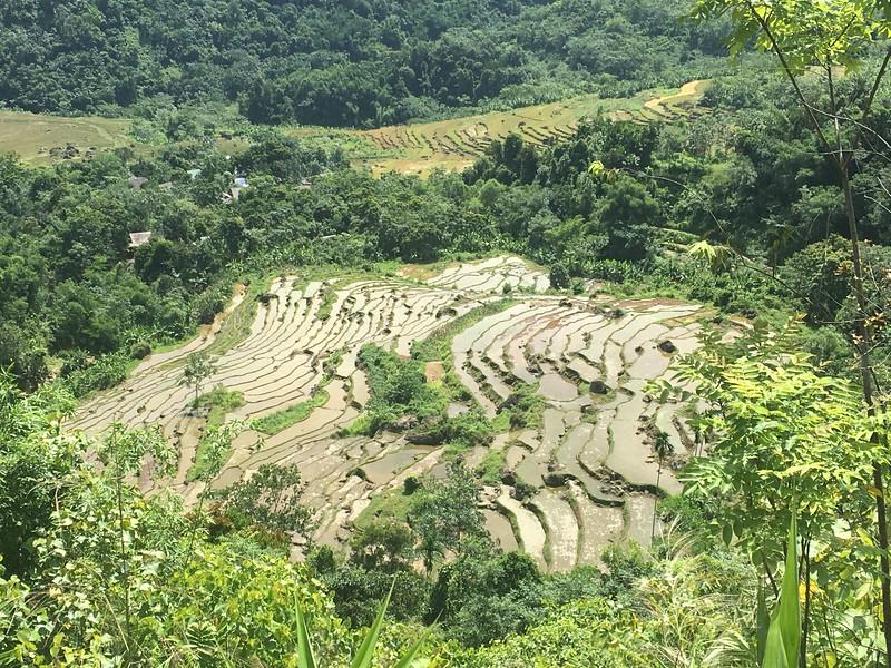 Sapa rice terraces alternative from Mai Chai.