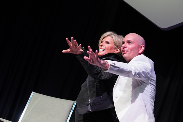 eMerge Stage: Pitbull & Suze Orman