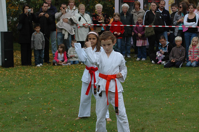 10/07 - Karate in Solihull Park