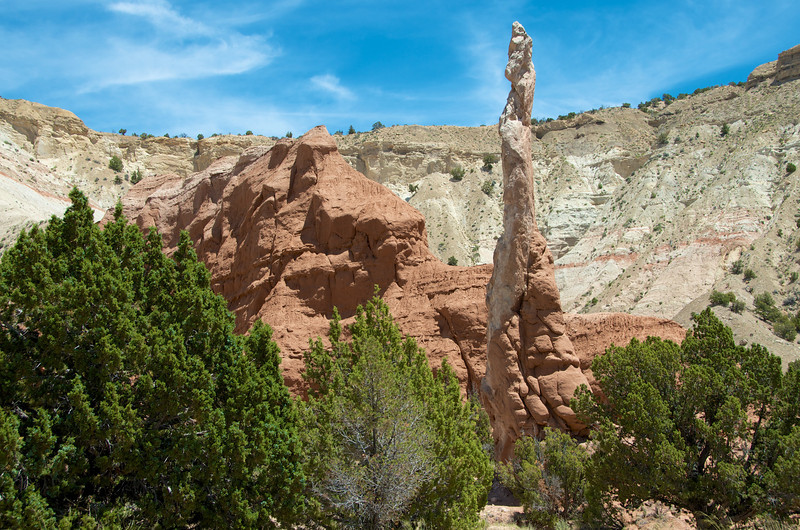 Later: We meet up and hike in Kodachrome Basin State Park