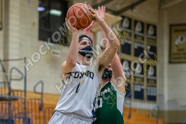 Foxboro-Canton Boys Basketball - 02-04-21