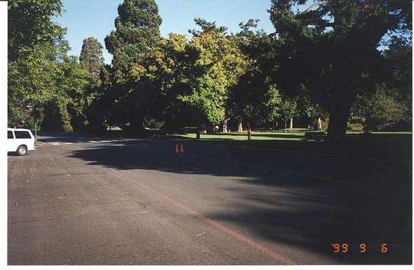 Royal Victoria Marathon Landmarks - 1999 Course - 5 km - Beacon Hill Park