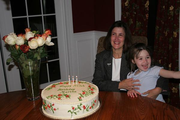 Aunt Martha's 50th Birthday Party - April 8, 2006