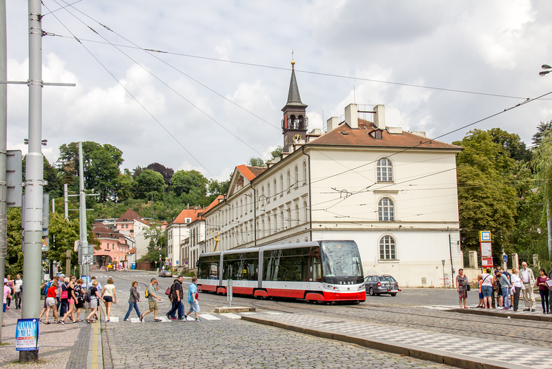 Cost of Living in Prague is Greatly reduced when you factor in public transportation costs.