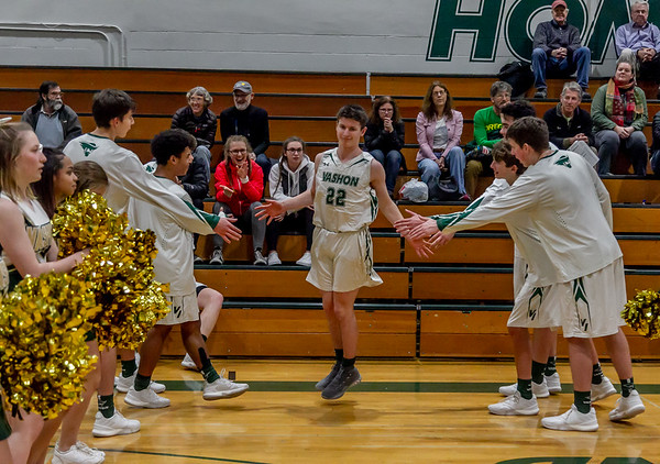 Pregame and Introductions, Set one: Boys Varsity Basketball v Sultan 12/14/2018